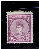 HONGRIE ( Y&T) 1916 - N°162  * Couronnement Des Souverains*     10fi  (neuf) - Unused Stamps