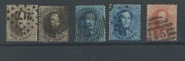 14+15+16 Ø  Cote 20,- €. Le 40c Est Dentelé 12,5 X 13,5. Cote 35,--€ - 1863-1864 Medallions (13/16)