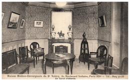 75 PARIS - Maison Médico-chirurgicale Du Dr Valéry, 30 Bd Voltaire - Un Salon D'atttente - Arrondissement: 11