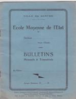 Ecole Moyenne De L'Etat à Binche - Diploma & School Reports