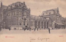 2747150Groningen, Station (poststempel 1899)(zie Hoeken) - Groningen