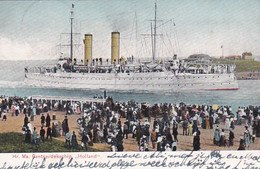 4837115Den Helder, Hr. Ms. Pantserdekschip ,,Holland'' (poststempel 1907) - Den Helder