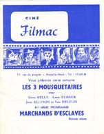 """Ciné """"Filmac""""  Bruxelles Nord - Programs"""