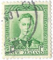 New Zealand 1 D, King George VI.  Mi:NZ 239 - Used Stamps