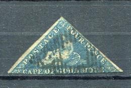 "Suedafrika (Kap Der Guten Hoffnung) - Ausgabe ""Allegorie Der Hoffnung"" 4 P. Blau Gestempelt (2846) - Kap Der Guten Hoffnung (1853-1904)"