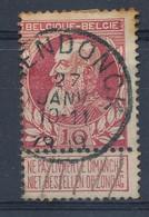 Nr   77 Met Stempel  Aerendonck - 1905 Grove Baard