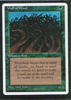 """MAGIC The GATHERING  """"Wall Of Wood""""---4th EDITION (MTG-104-6) - Unclassified"""