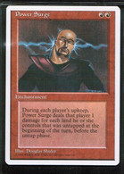 """MAGIC The GATHERING  """"Power Surge""""---4th EDITION (MTG-104-7) - Unclassified"""