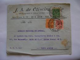 BRASIL / BRAZIL - SYNDICATO CONDOR , LETTER SENT FROM RIO DE JANEIRO TO PORTO ALEGRE IN 1930 IN THE STATE - Brieven En Documenten