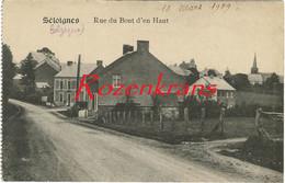 Séloignes Rue Du Bout D'en Haut Momignies Hainaut Henegouwen CPA 1919 Correspondence Interessante - Momignies