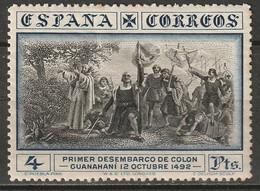 Spain 1930 Sc 431  MLH* Toning - Ungebraucht