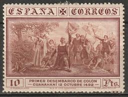 Spain 1930 Sc 432  MLH* Toning - Ungebraucht