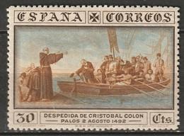 Spain 1930 Sc 427  MLH* Toning - Ungebraucht