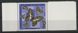 "AFARS Et ISSAS N° 407 Cote 9,50 € PAPILLONS / BUTTERFLY ""Demodocus "" Neufs ** (MNH) - Vlinders"