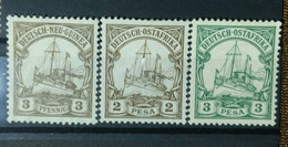 German African Colony, German New Guinea, German West Africa, Yatch, Radio, - Non Classificati