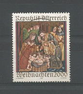 Austria 2000 Christmas  Y.T. 2166 (0) - 1991-00 Usados