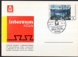 Deutschland - 1979  - Karte - Sonderstempel - Interzum Köln - A1RR2 - Covers & Documents