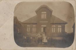 Quakenbruck 1910 Very Creased Worn German Postcard - Sin Clasificación