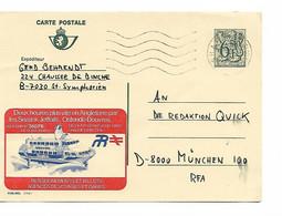REF4714/ Entier CP Publibel 2769F Sealink Ostende-Douvres C. SHAPE Belgique 1982 > RFA - Publibels