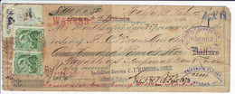 CANADA   Wechsel  Bill Of Exchange 1873  Bill Stamps  Mid Folded - Bills Of Exchange