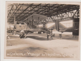 KREFELD - BOCKUM - HANGAR DE L'AVIATION BELGE - PHOTO 115 X 85 - Sin Clasificación