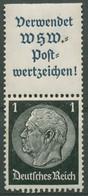 Deutsches Reich Zusammendrucke 1939 Hindenburg S 167 Mit Falz - Se-Tenant
