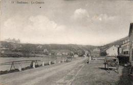 Godinne Le Centre Charette Voyagé En 1911 - Yvoir