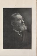 Programme Commémoration Mémoire De Jean Jaurès 31 Juillet 1914 Parti Socialiste  Avec Photo Portrait  RARE - Programme