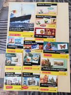 @ Lot De 13 Carnets De Timbres Neufs, Tous Auto-collant @ - Booklets