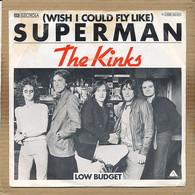 """7"""" Single, The Kinks - Wish I Could Fly Like Superman - Disco, Pop"""