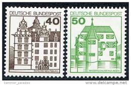 BRD - Mi 1037 / 1038 ✶✶ # - 40-50Pf Burgen Und Schlösser IV - Unused Stamps