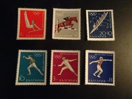 K48914 -  Set  MNh Bulgaria 1968 - Olympics Mexico - Summer 1968: Mexico City