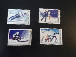K48943- Set MNH Belarus  2002 - Olympics Salt Lake City - Winter 2002: Salt Lake City