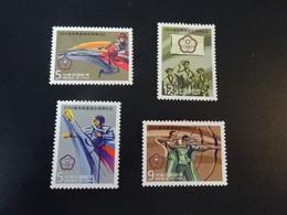 K48955 - Set Mint Hinged  Taiwan 2004 - REP. Of China - Olympics Athens - Verano 2004: Atenas
