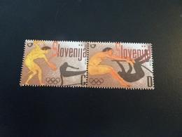 K48957 - Set Mint Larged Hinged Slovenia 2004 - Olympics Athens - Verano 2004: Atenas