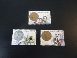 K48971 - Set No Gum 1 Stamp Crumpled  - Israel  2004 - Olympics Athens - Verano 2004: Atenas