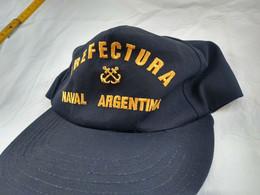 Argentina Coast Guard Prefectura Visor Hat Cap NOS  #22 - Equipement