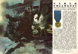 CPA - WW2 WWII Propaganda - MEDAGLIA D'ORO (36) - 31° Reggimento Fanteria - Carlo Chiamenti Da Firenze - NV - WN122 - War 1939-45