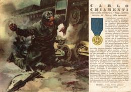 CPA - WW2 WWII Propaganda - MEDAGLIA D'ORO (36) - 31° Reggimento Fanteria - Carlo Chiamenti Da Firenze - VG - WN123 - War 1939-45