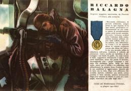 CPA - WW2 WWII Propaganda - MEDAGLIA D'ORO (38) - Sergente Marconista Riccardo Balagna Da Pinerolo, Torino - NV - WN125 - War 1939-45
