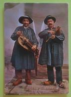 EN AUVERGNE - VIELLEUX ET CABRETAIRE - Music Folklore Musique Musicantes  Vg - Musica