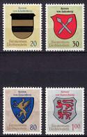 Liechtenstein  Mi. 450-453 Postfrisch  Wappen 1965 (11328 - Unclassified