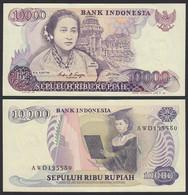 Indonesien - Indonesia 10000 10.000 Rupien 1985 Pick 126a UNC   (17884 - Andere - Azië