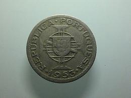Portuguese Cabo Verde 2 1/2 Escudos 1953 - Portugal