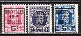 273/75**  Houyoux Avec Préoblitération - Série Complète - MNH** - LOOK!!!! - Unused Stamps