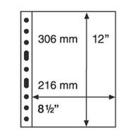 Leuchtturm Blankoblätter Schwarz Grande 1S (5 Stück Neu (G50 - Blank Pages