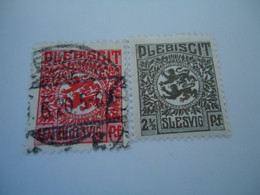 SLESVIG  MNH AND USED STAMPS   WITH POSTMARK 1920 - Ohne Zuordnung
