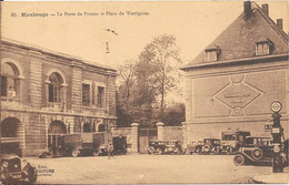 Maubeuge - La Porte De France Et Place De Wattignies - Maubeuge