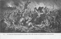 EURE ET LOIR  28  LOIGNY LA BATAILLE - ZOUAVES 2 DECEMBRE 1870 - MILITARIA, GUERRE 1870 71 - ILLUSTRATEUR L. ROYER - Loigny
