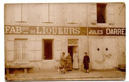 Fabrique De Liqueurs - Jules Darre - Carte Photo - CPA° - Andere